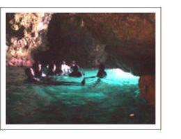 洞窟の入り口へ到着
