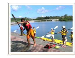 カヤックの乗り方、漕ぎ方講習